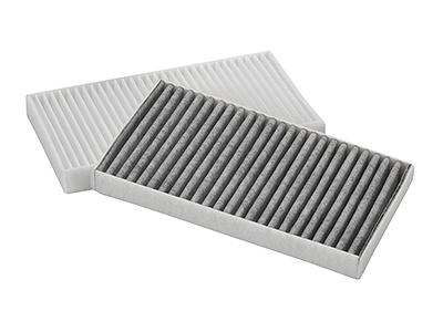 vehicle interior cabin air filter