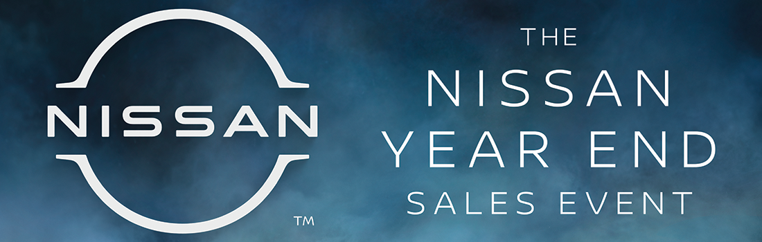 Nissan Year-End Sales Event Holiday and New Year's Specials