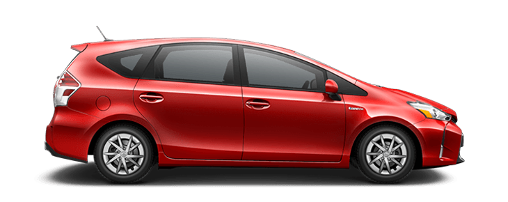 compare 2016 toyota prius v two vs v three differences. Black Bedroom Furniture Sets. Home Design Ideas