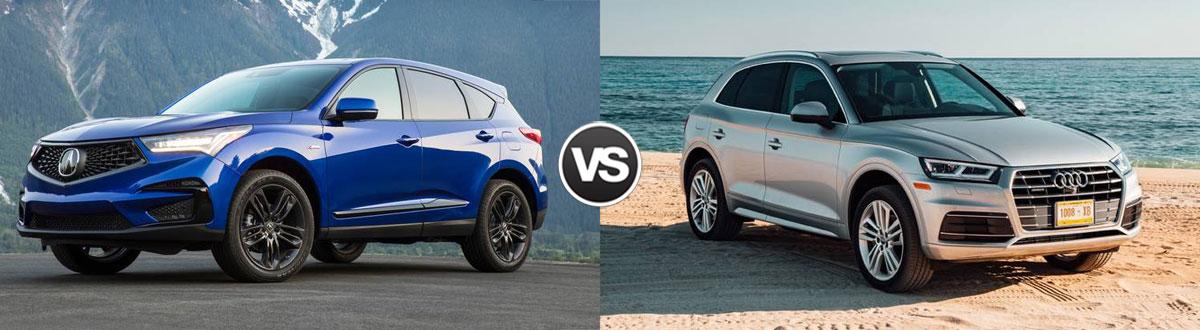 2020 Acura RDX vs 2020 Audi Q5