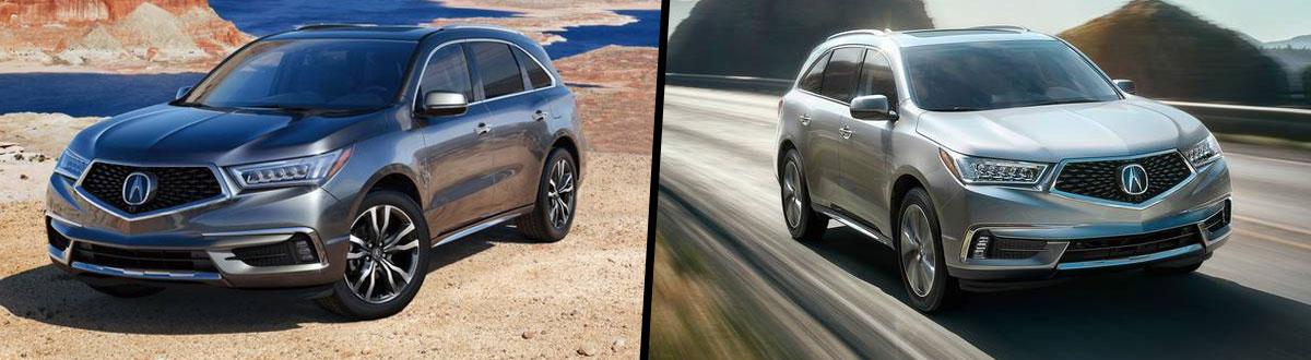 Compare 2020 vs 2019 Acura MDX | Ridgeland MS