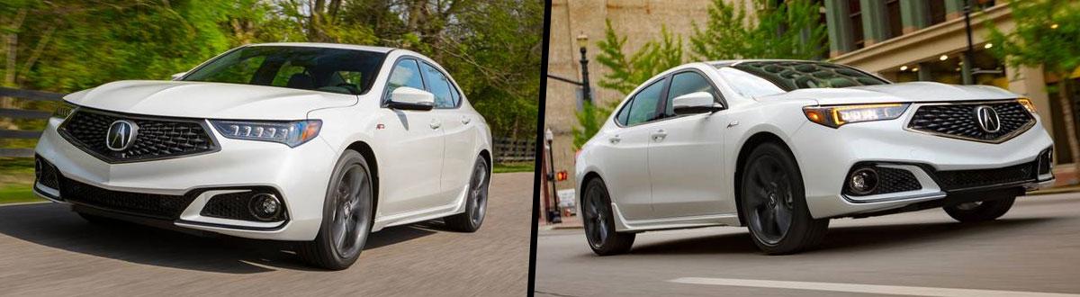 2020 Acura TLX vs 2019 Acura TLX