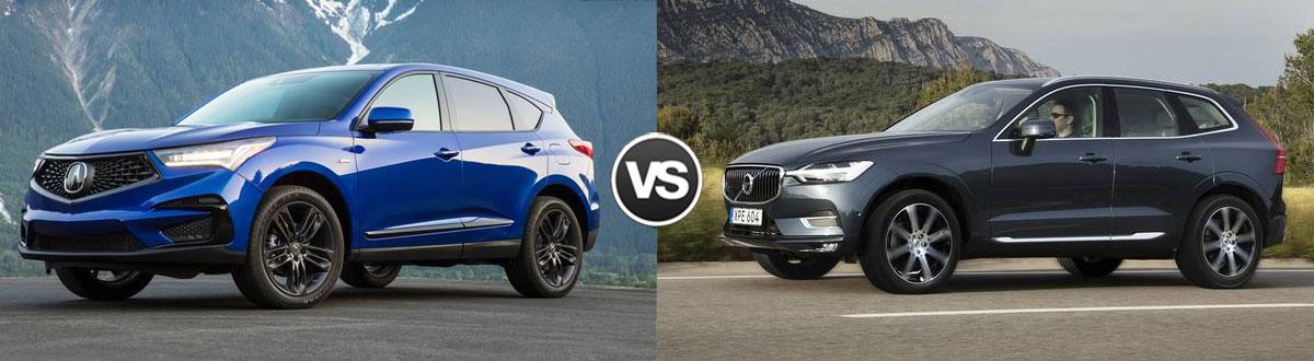 2021 Acura RDX vs 2021 Volvo XC60