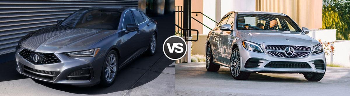 2021 Acura TLX vs 2021 Mercedes-Benz C-Class