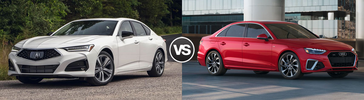 2021 Acura TLX vs 2021 Audi A4