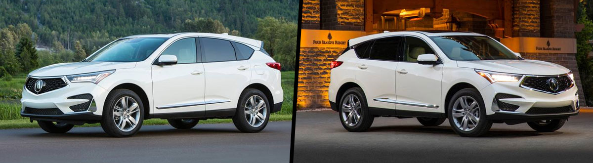 2021 Acura RDX vs 2020 Acura RDX