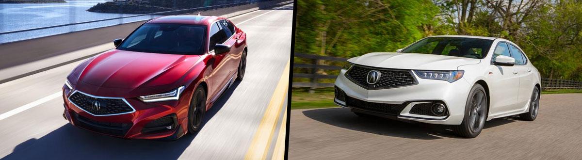 2021 Acura TLX vs 2020 Acura TLX