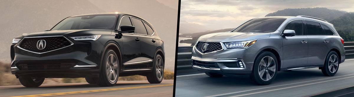 2022 Acura MDX vs 2020 Acura MDX