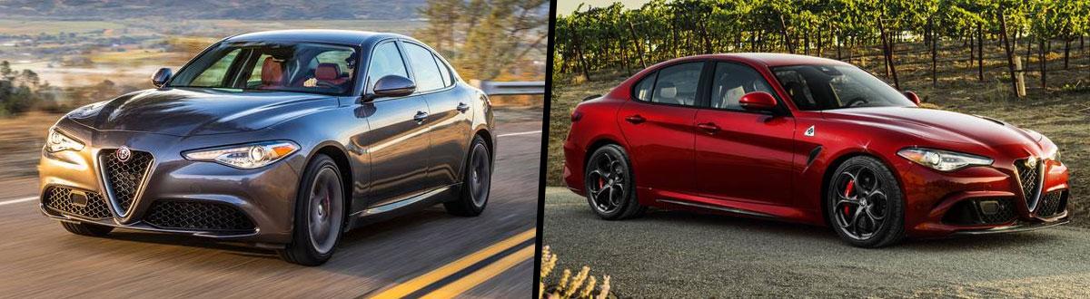 2020 Alfa Romeo Giulia vs 2019 Alfa Romeo Giulia