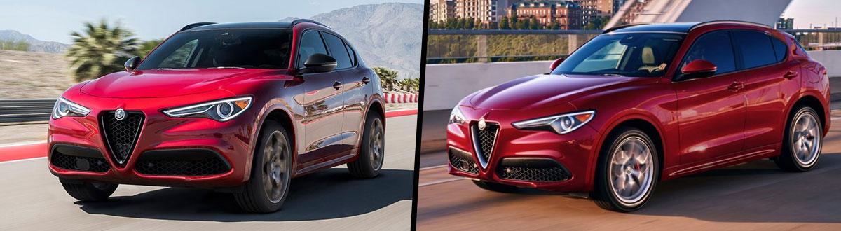 2021 Alfa Romeo Stelvio vs 2020 Alfa Romeo Stelvio