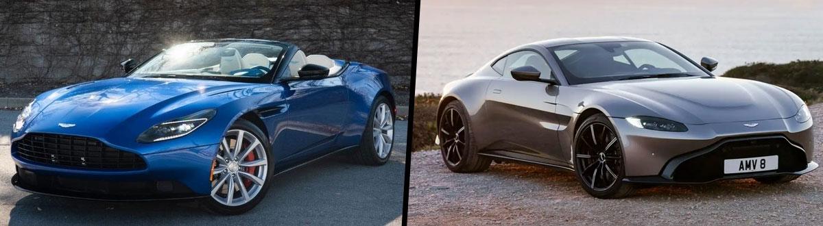2020 Aston Martin Db11 Volante Vs 2020 Aston Martin Vantage
