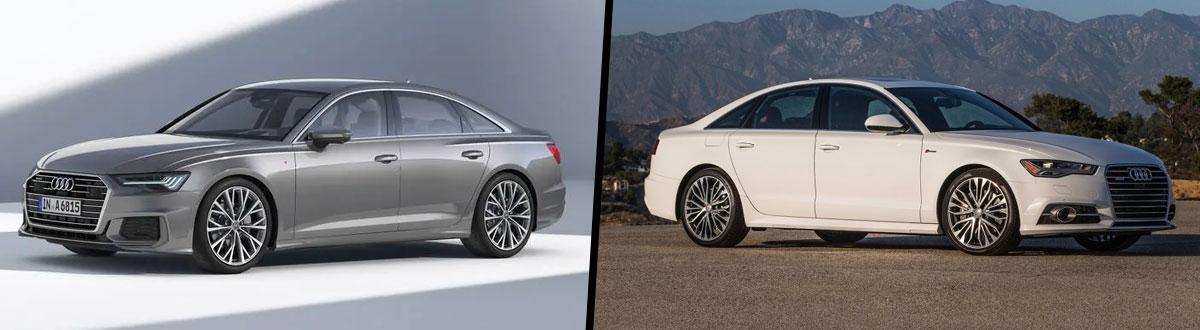 Compare 2019 Vs 2018 Audi A6 Rockville Md