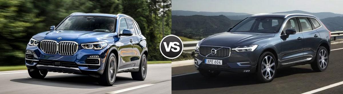 Compare 2019 Bmw X5 Vs 2019 Volvo Xc60 Chattanooga Tn