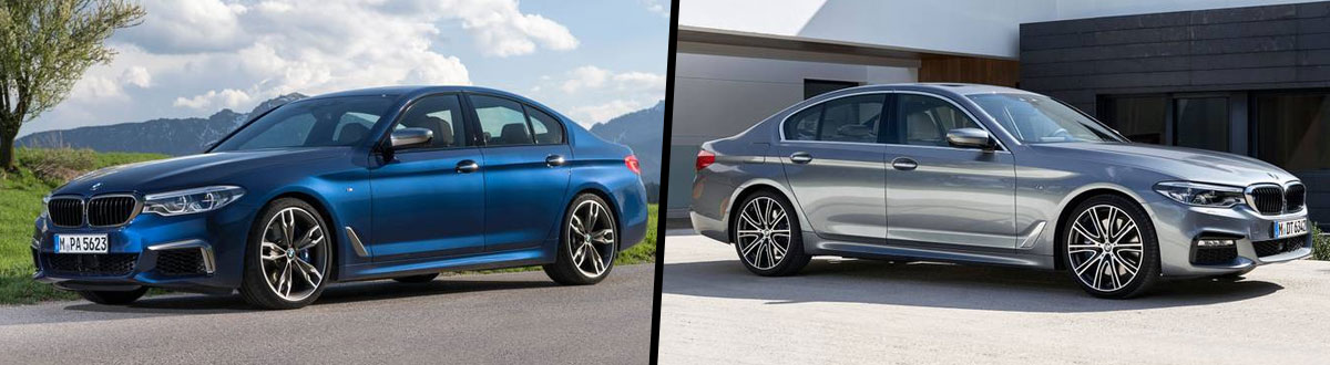 2019 BMW 5 Series vs 2018 BMW 5 Series