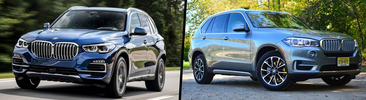 Compare 2019 vs 2018 BMW X5 | Fairfax VA
