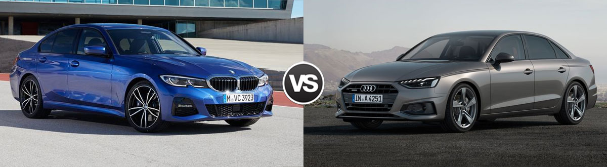 2020 BMW 3 Series vs 2020 Audi A4