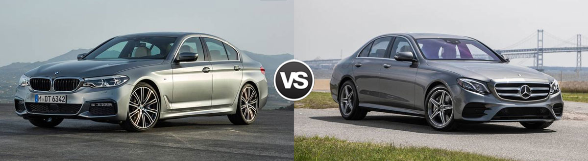 2020 BMW 5 Series vs 2020 Mercedes-Benz E-Class