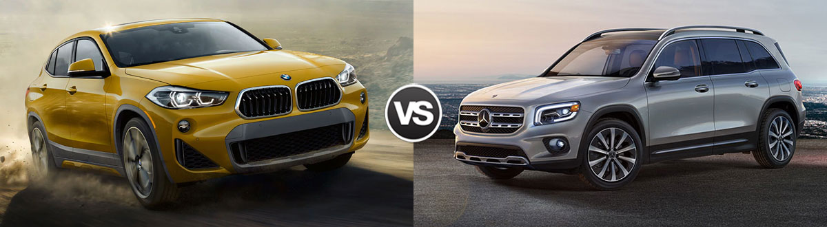 2020 BMW X2 vs 2020 Mercedes-Benz GLB