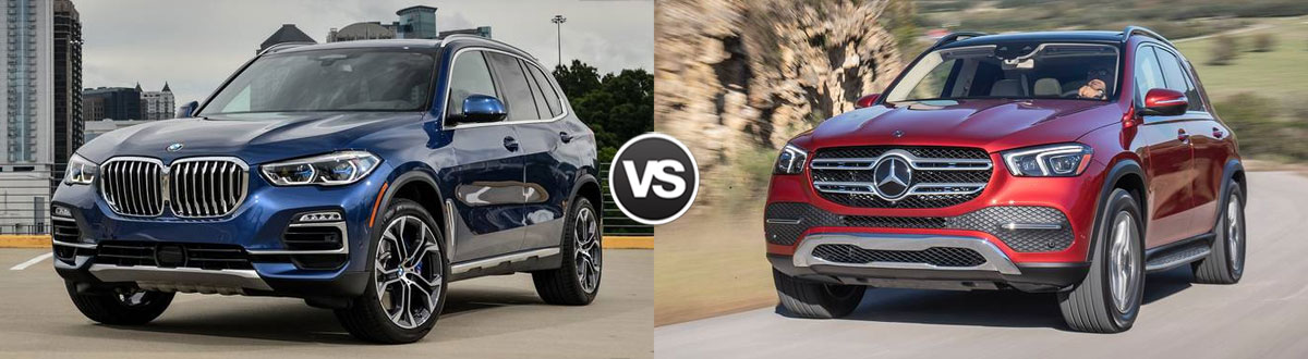 2020 BMW X5 vs 2020 Mercedes-Benz GLE
