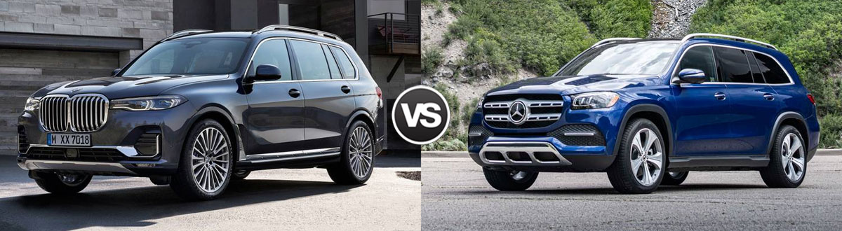 2020 BMW X7 vs 2020 Mercedes-Benz GLS
