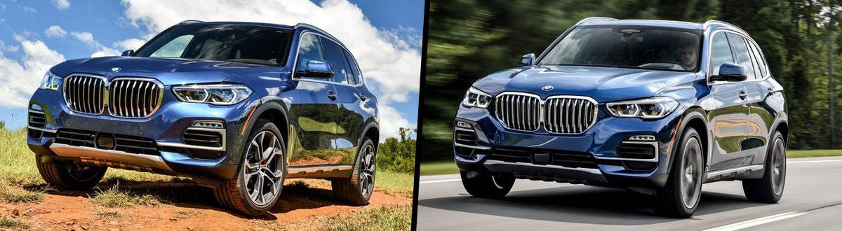 2020 BMW X5 vs 2019 BMW X5