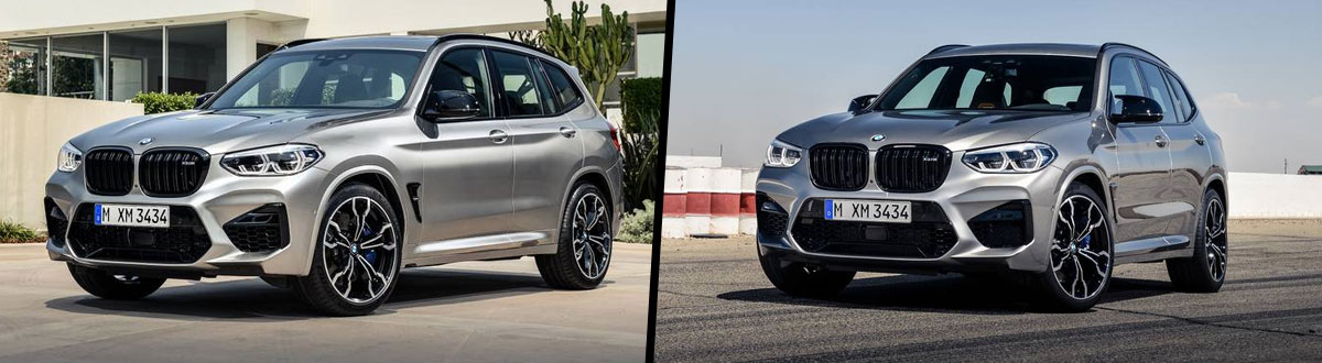 compare 2021 bmw x3 m vs 2020 bmw x3 m | seaside, ca