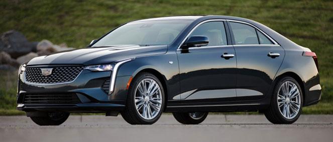 Cadillac CT4 Luxury Sedan