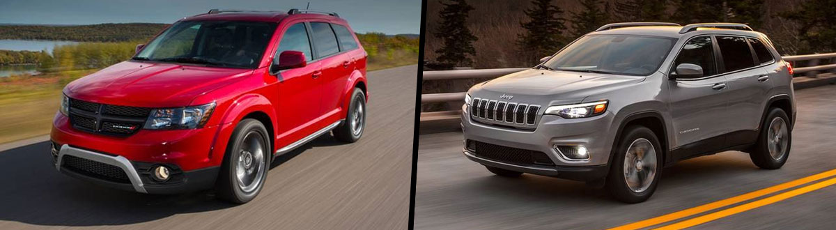 2020 Dodge Journey vs 2020 Jeep Cherokee
