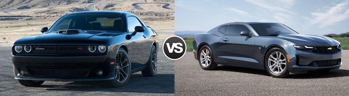 2021 Dodge Challenger vs 2021 Chevy Camaro