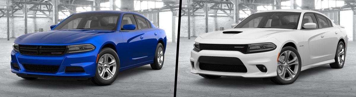2021 Dodge Charger SXT vs 2021 Dodge Charger R/T