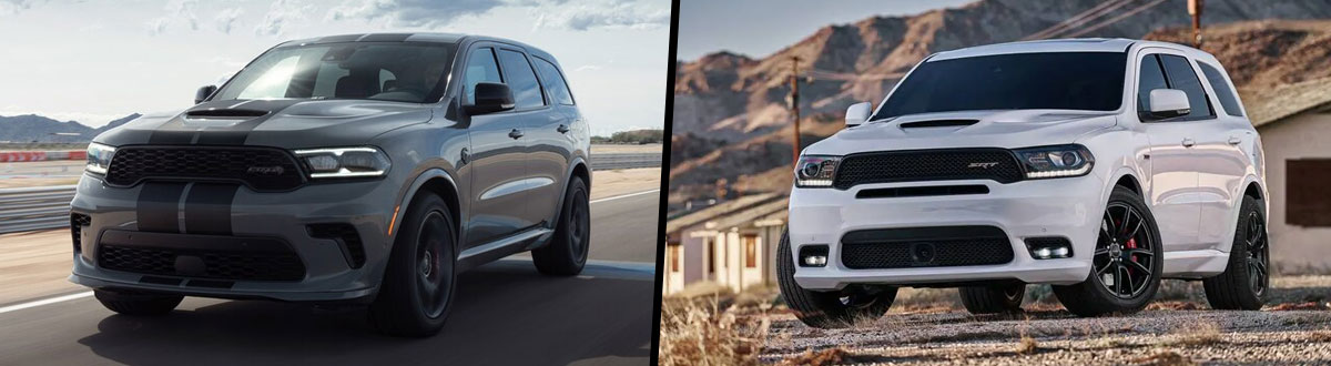2021 Dodge Durango vs 2020 Dodge Durango