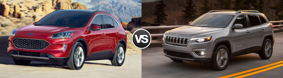 2020 Ford Escape vs 2020 Jeep Cherokee