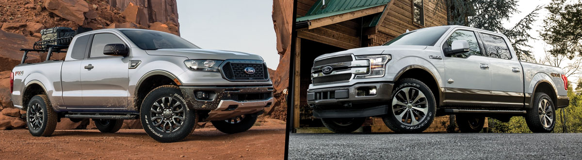 2020 Ford Ranger vs 2020 Ford F-150