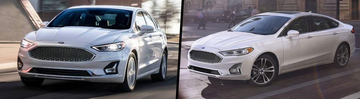 Compare 2020 Vs 2019 Ford Fusion Wellington Oh