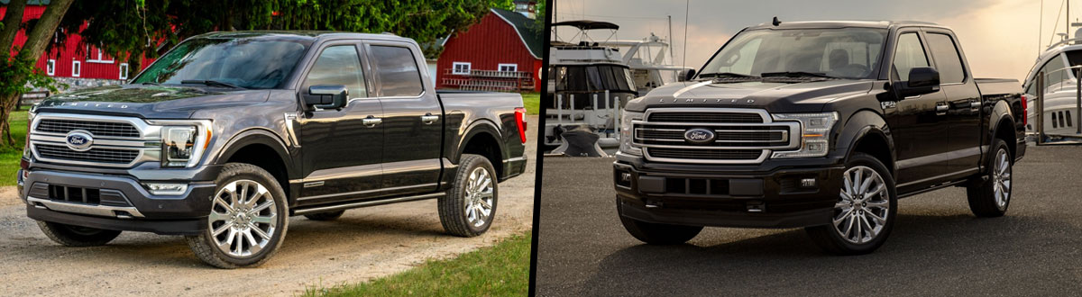 2021 Ford F-150 vs 2020 Ford F-150