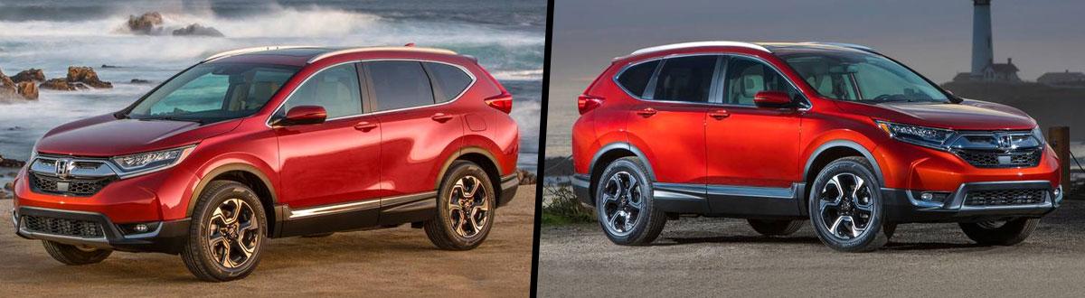 2019 Honda CR-V vs 2018 Honda CR-V