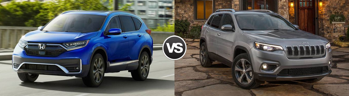 2020 Honda CR-V vs 2020 Jeep Cherokee