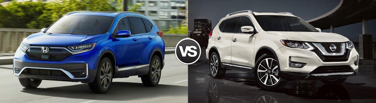 2020 Honda CR-V vs 2020 Nissan Rogue