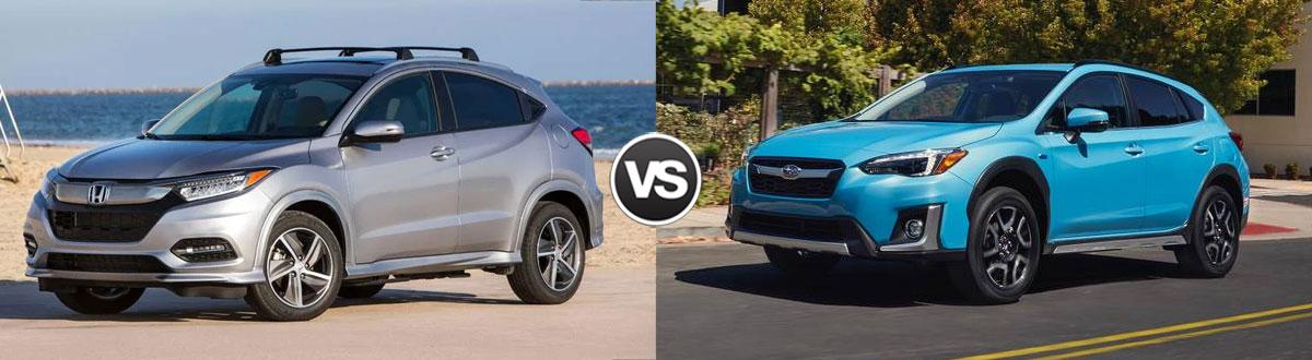 2020 Honda HR-V vs 2020 Subaru Crosstrek