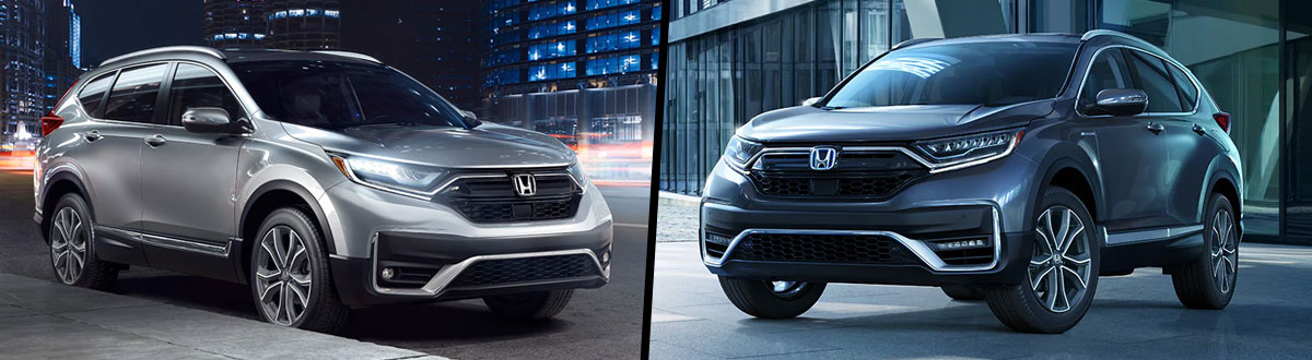 2020 Honda CR-V vs 2020 Honda CR-V Hybrid