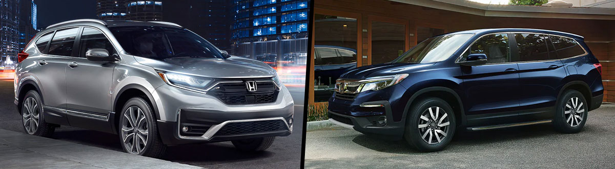2020 Honda CR-V vs 2020 Honda Pilot