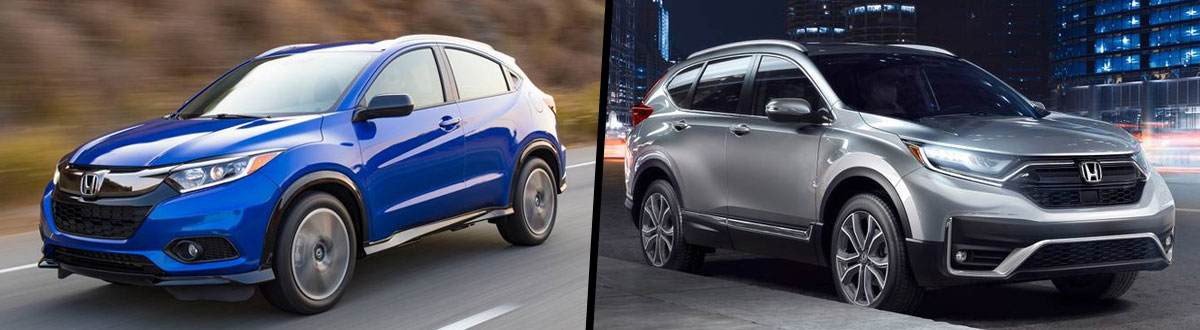 2020 Honda HR-V vs 2020 Honda CR-V