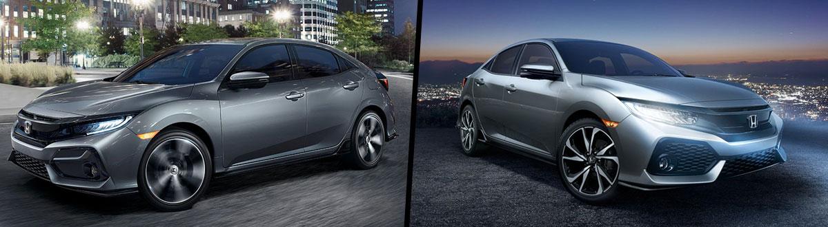2020 Vs 2019 Honda Civic Hatchback Comparison Hazleton Pa