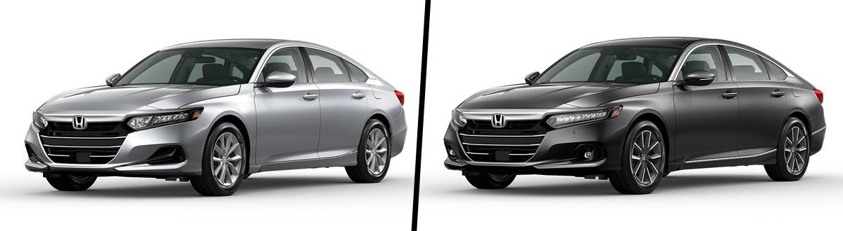2021 Honda Accord LX vs 2021 Honda Accord EX-L