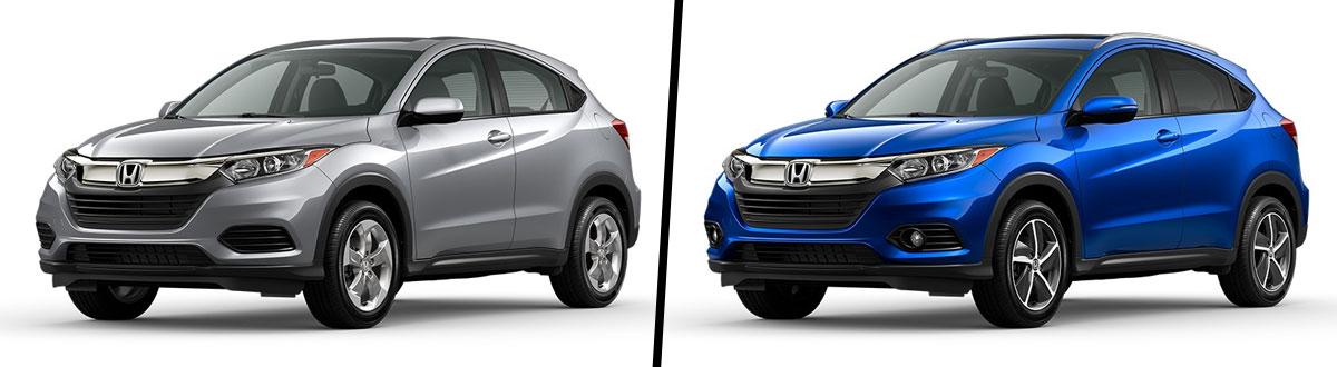 2021 Honda HR-V LX vs 2021 Honda HR-V EX