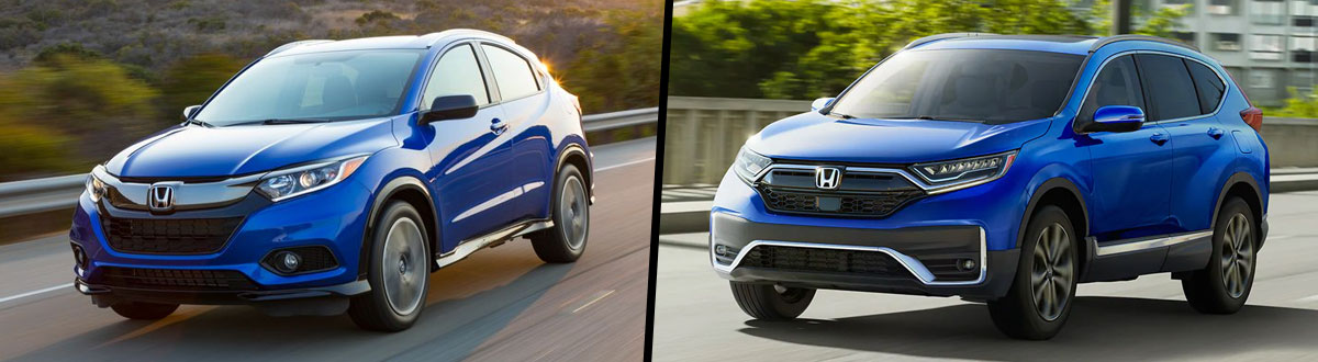 2021 Honda HR-V vs 2021 Honda CR-V