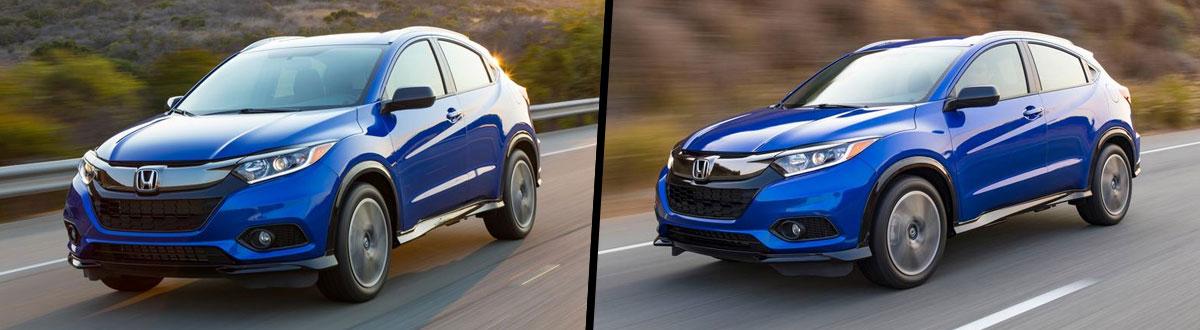 2021 Honda HR-V vs 2020 Honda HR-V