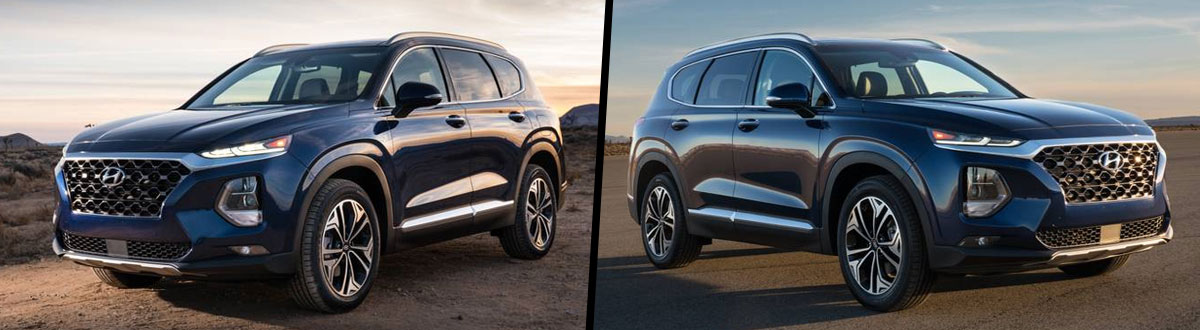 Compare 2020 Vs 2019 Hyundai Santa Fe Memphis Tn