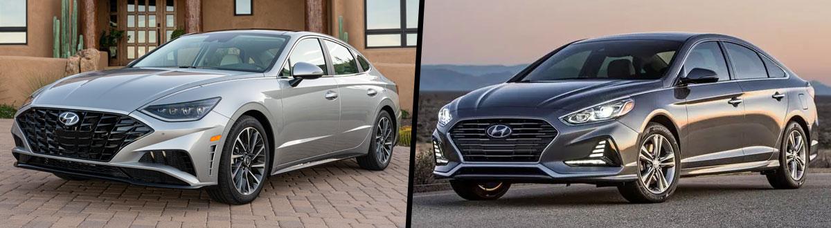 2020 Hyundai Sonata vs 2019 Hyundai Sonata