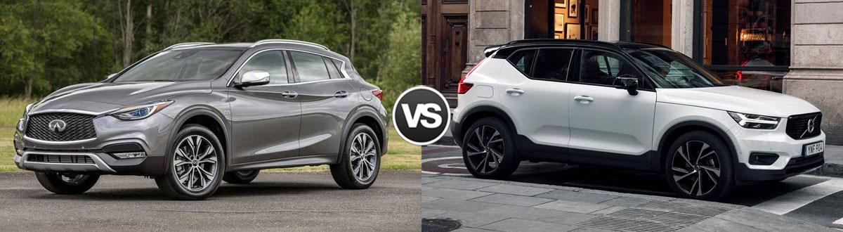 2019 INFINITI QX30 vs 2019 Volvo XC40